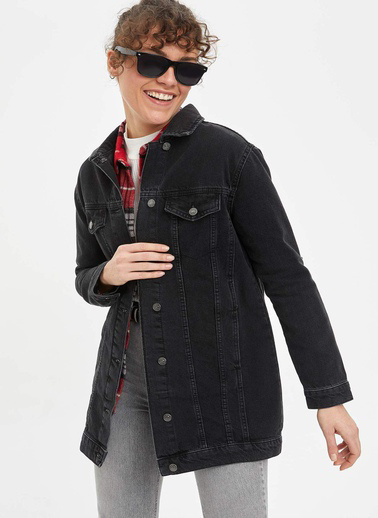 DeFacto Ceket Siyah